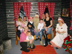 All seeing Father Christmas back in 2006