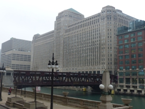 Merchandise Mart - the second largest building in the US (after the Pentagon in case you were wondering!)