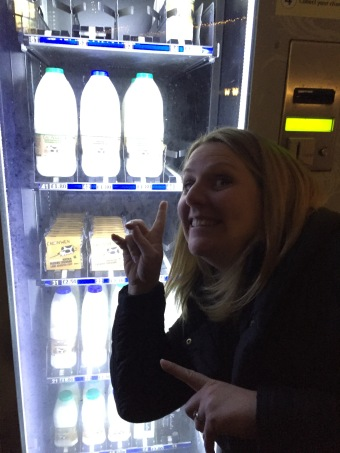 The diary vending machine