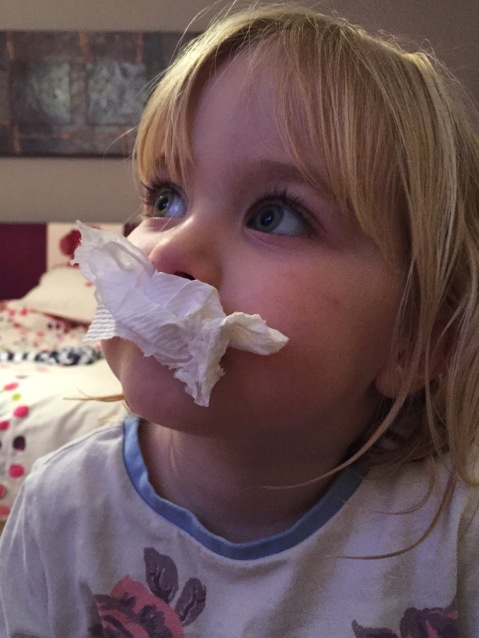 Snotty tissue