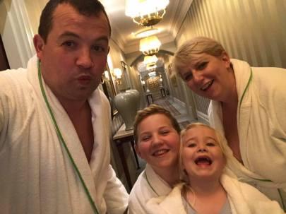 Savoy bathrobes