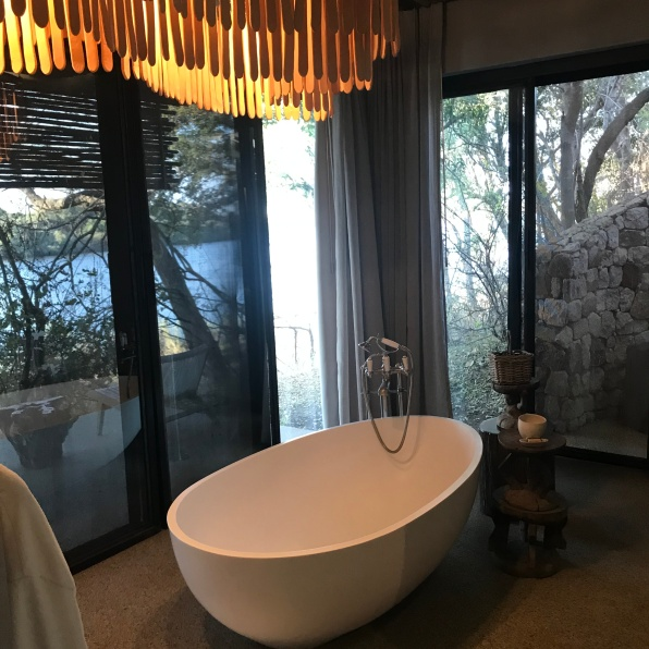 A bath with a view too