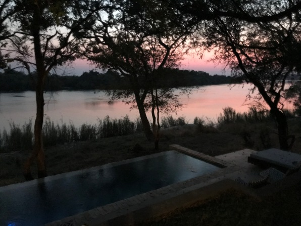Sunrise over the Zambezi