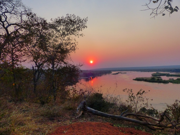 Sunset over the Zambezi
