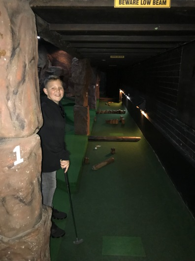 Cave Golf champion